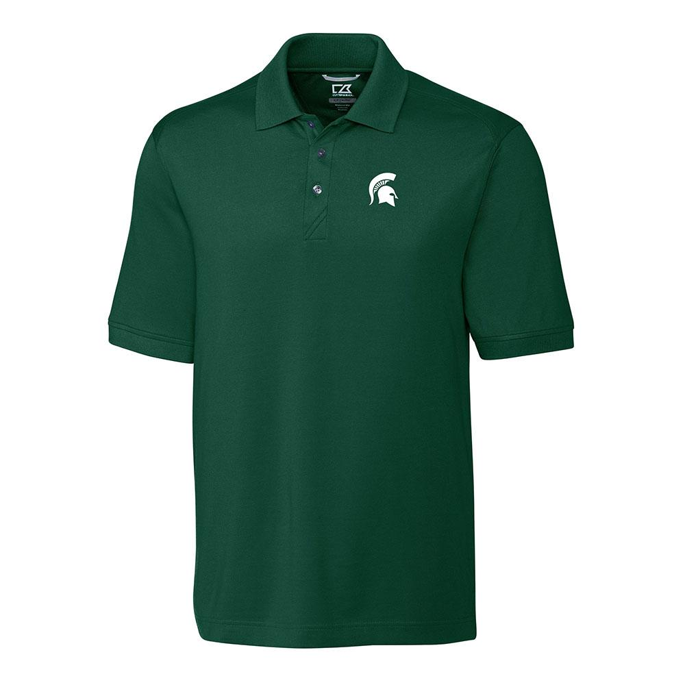 Michigan State Cutter And Buck Advantage Drytec Polo