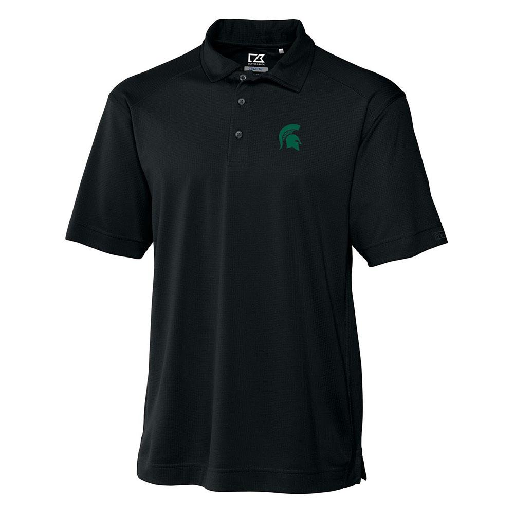 Michigan State Cutter And Buck Big And Tall Drytec Genre Polo