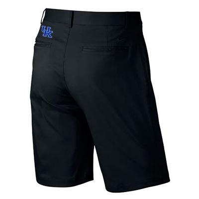 Kentucky Nike Golf Flat Front Shorts BLACK