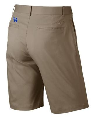 Kentucky Nike Golf Flat Front Shorts KHAKI