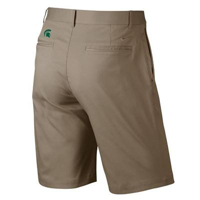 Michigan State Nike Golf Flat Front Shorts