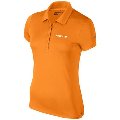 Tennessee Nike Golf Women's Victory Polo - Rocky Top Logo