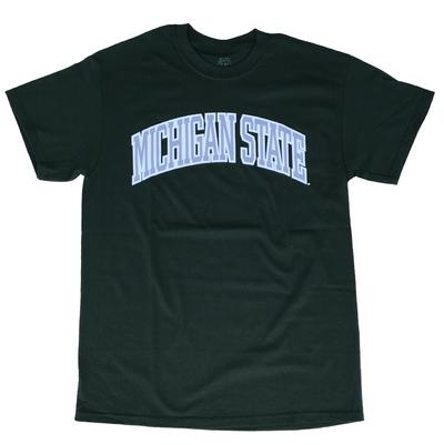 Michigan State Arch Tee FOREST_GREEN