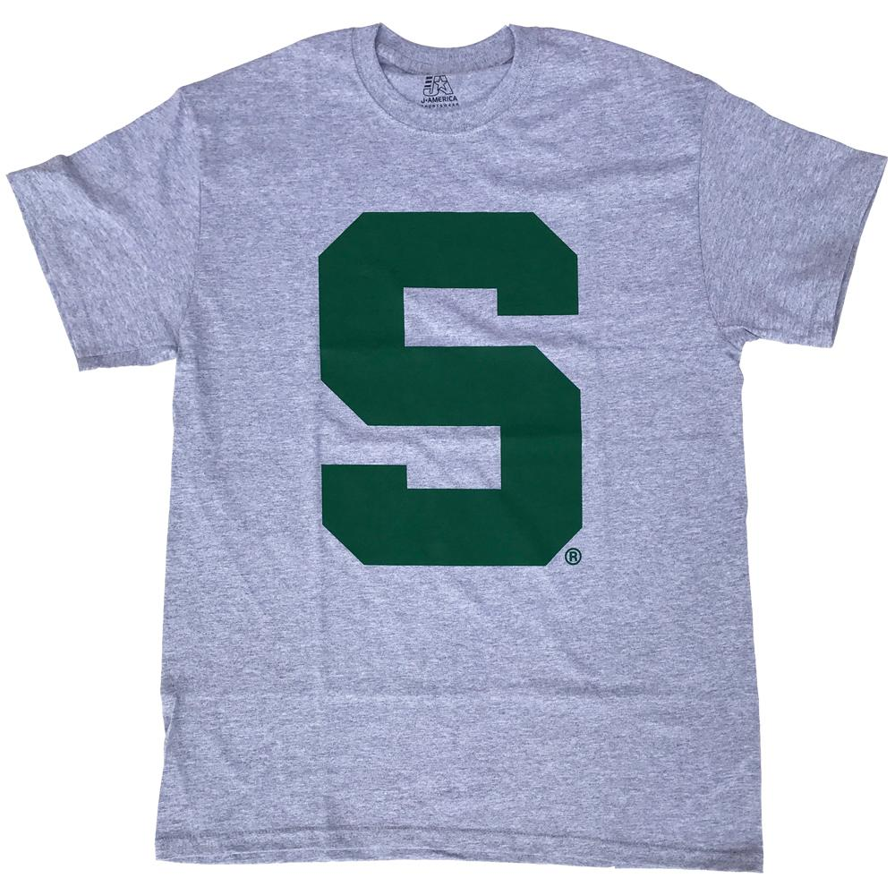Michigan State Giant Logo Tee
