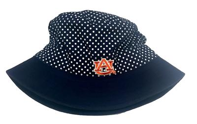Auburn Infant Pin Dot Bucket Hat