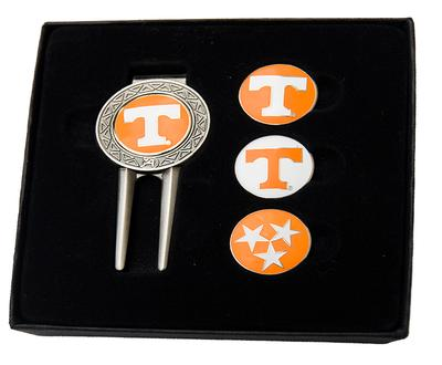 Tennessee Divot Tool and Ball Marker Set