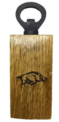 Arkansas Timeless Etchings Razorback Logo Mini Bottle Opener
