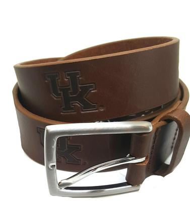 Kentucky Leather Belt BROWN