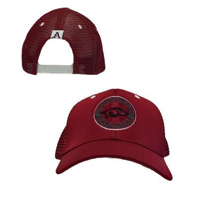 Arkansas Top of the World Frontier Circle Logo Meshback Cap