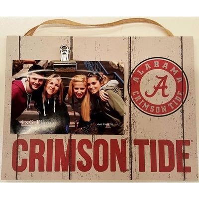 Alabama Small Weathered Photo Plaque