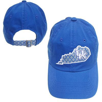 Kentucky Top of the World Women's Quatrefoil Hat