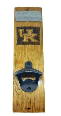 Kentucky Timeless Etching UK Logo Mounted Bottle Opener