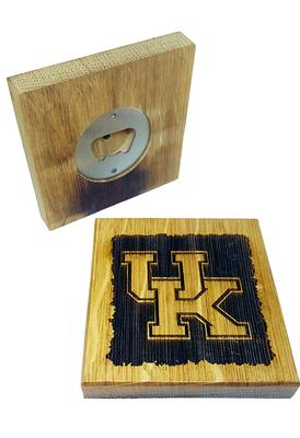 Kentucky Timeless Etching UK Logo Coasters w/ Bottle Opener