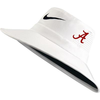 Alabama Nike Golf UV Flex Bucket Hat WHITE