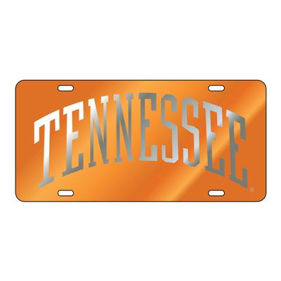 Tennessee Silver and Orange Arch License Plate