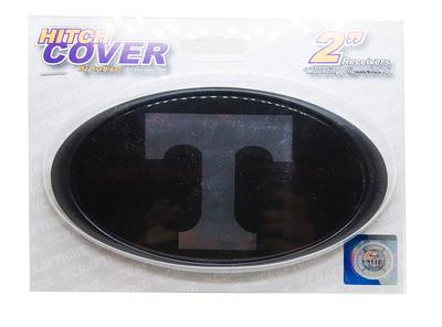 Tennessee Black and Silver Domed Power T Trailer Hitch