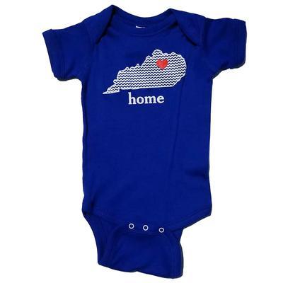 Kentucky Heart Infant Onesie