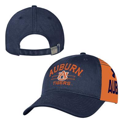 Auburn Under Armour Washed Cotton Adjustable Cap