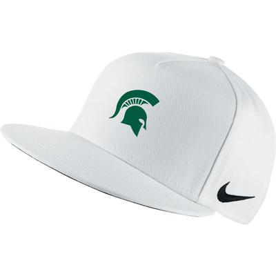 Michigan State Nike Golf Flat Brim True Golf Hat