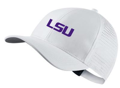 LSU Nike Golf AeroBill Custom Adjustable Hat
