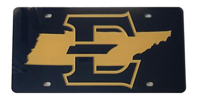 ETSU Team Color State License Plate