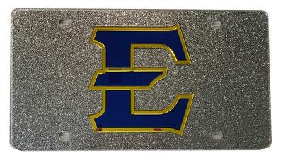 ETSU Glitter License Plate
