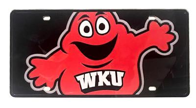 Western Kentucky Mega Logo License Plate