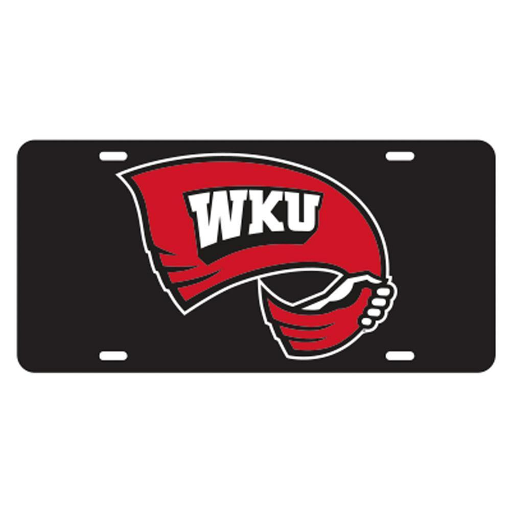Western Kentucky Rally Towel Logo License Plate