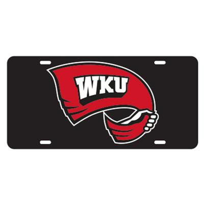 Western Kentucky Rally Towel Logo License Plate