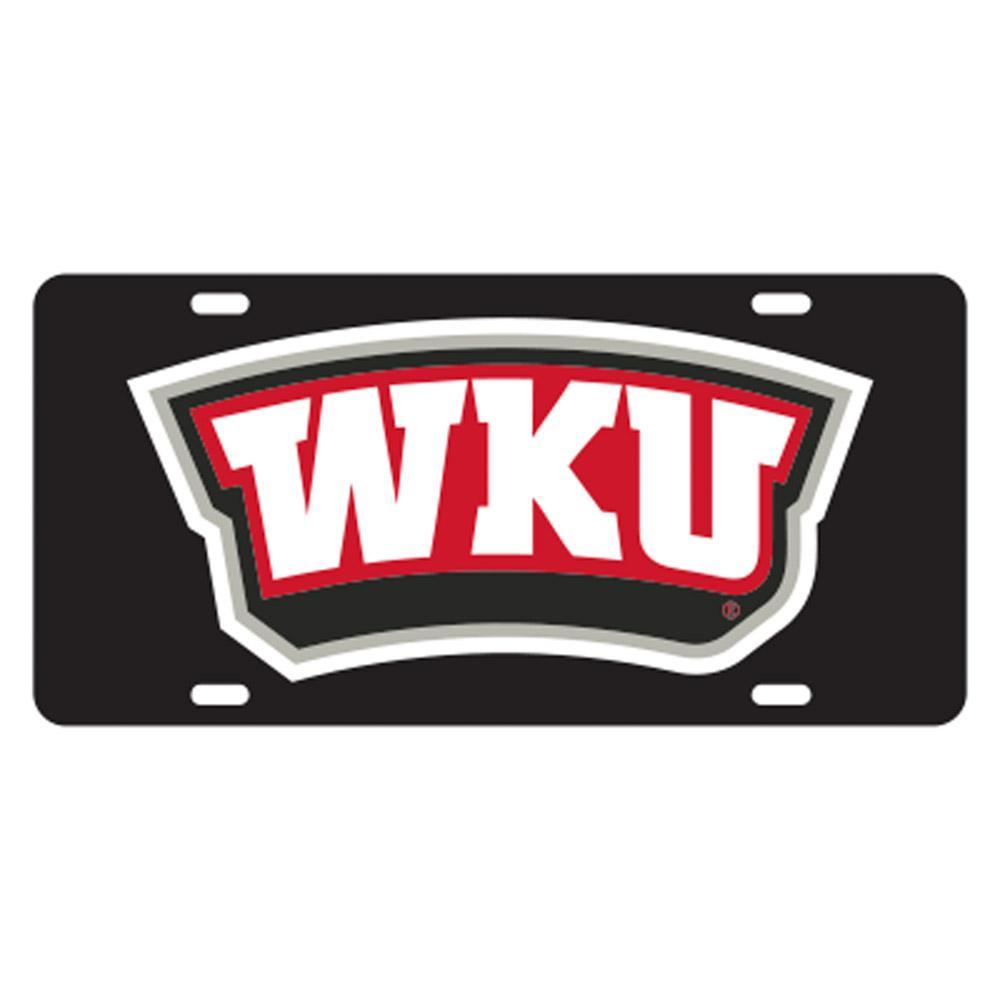 Western Kentucky Wku Logo License Plate