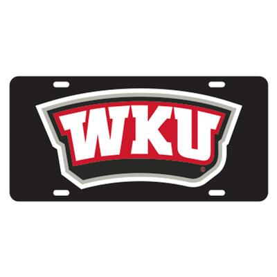 Western Kentucky WKU Logo License Plate