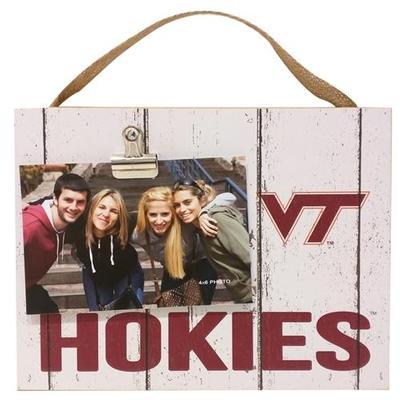 Virginia Tech Weathered Photo Plaque