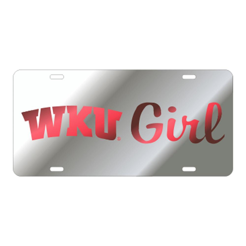 Western Kentucky Girl License Plate
