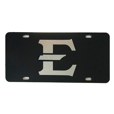ETSU Mirrored E Logo License Plate