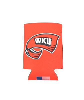 Western Kentucky University Logo Can Cooler