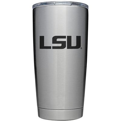 LSU YETI 20oz Rambler With Lid
