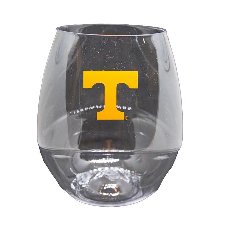 Tennessee Plastic 16oz Stemless Wine Glass