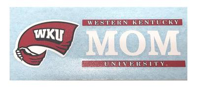 Western Kentucky Mom Decal