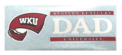 Western Kentucky Dad Decal