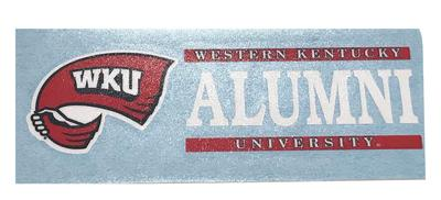 Western Kentucky Alumni Decal
