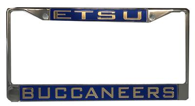 ETSU Buccaneer License Plate Frame