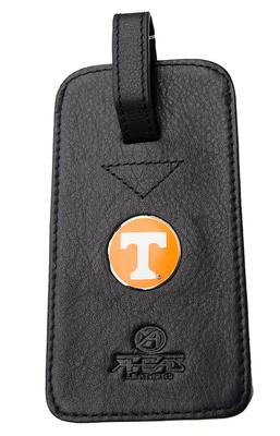 Tennessee Leather Luggage Tag