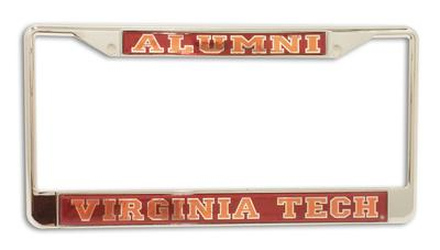 Virginia Tech Alumni Mirror Finished License Plate Frame