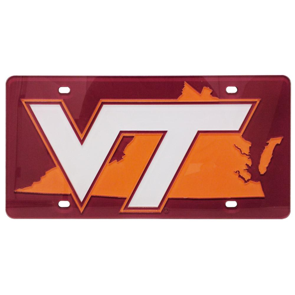 Virginia Tech State License Plate