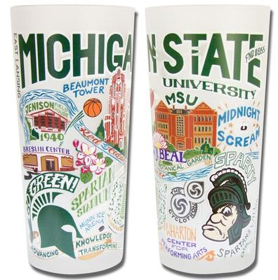 Michigan State College Town Glass