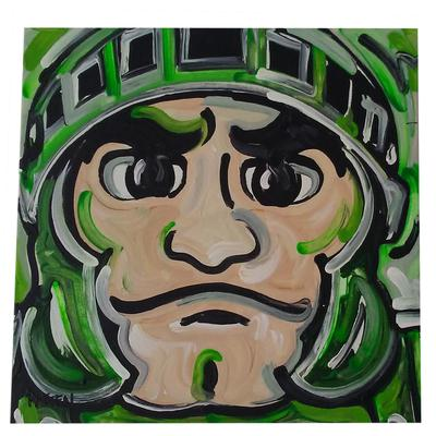 Sparty Painted Canvas 12