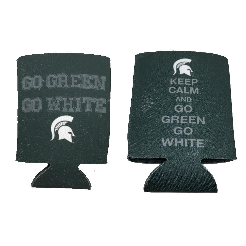 Michigan State Keep Calm Can Cooler
