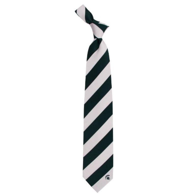 Michigan State Regiment Stripe Tie
