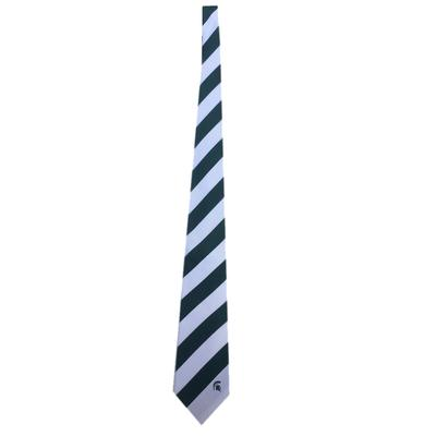 Michigan State Regiment Stripe Tie