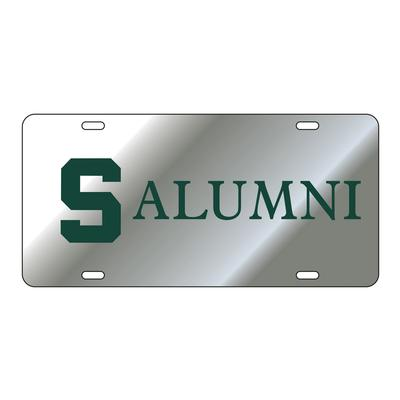 Michigan State Alumni License Plate